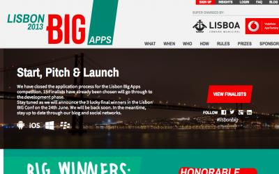 Lisbon BIG Apps 2013