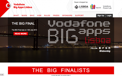 Vodafone BIG Apps Lisboa